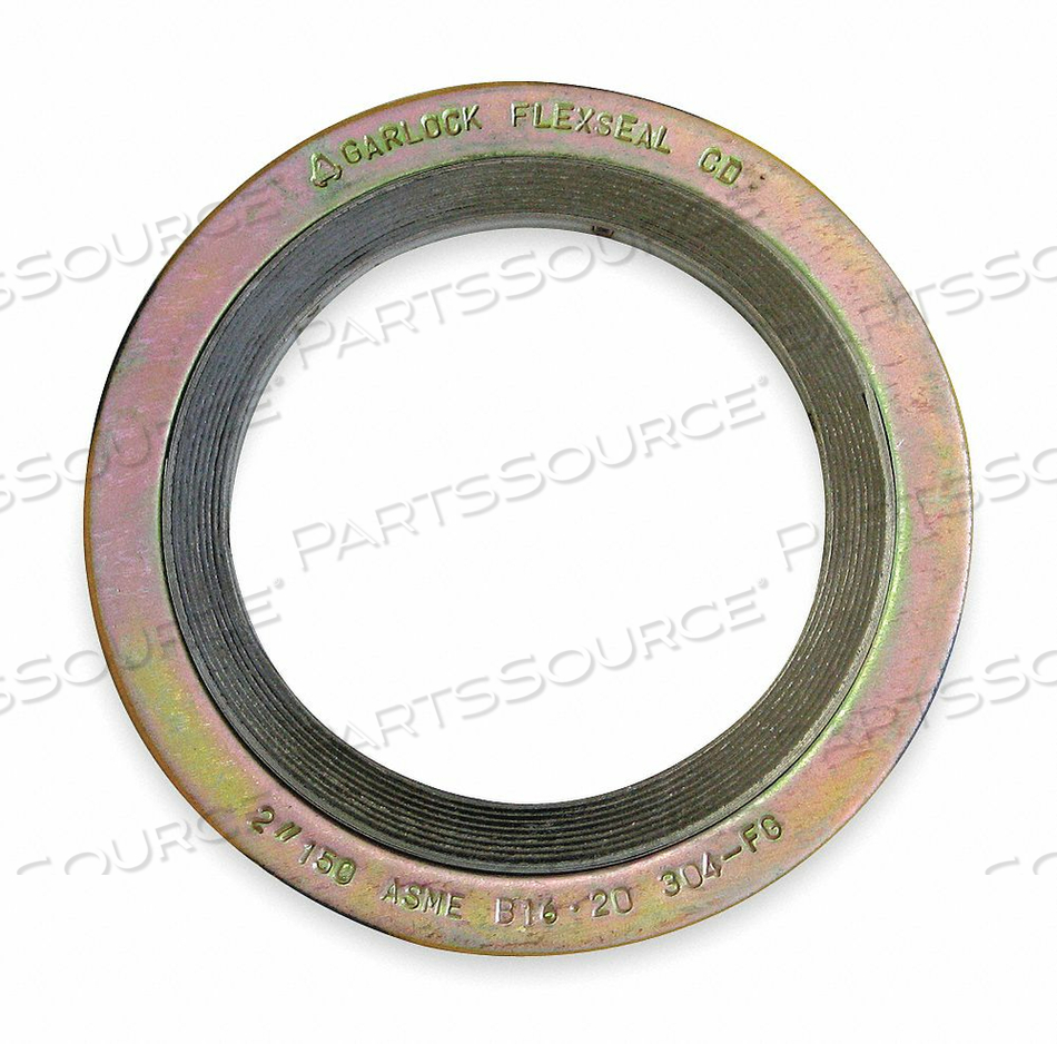 GASKET RING 5 IN METAL YELLOW by Garlock Sealing Technologies