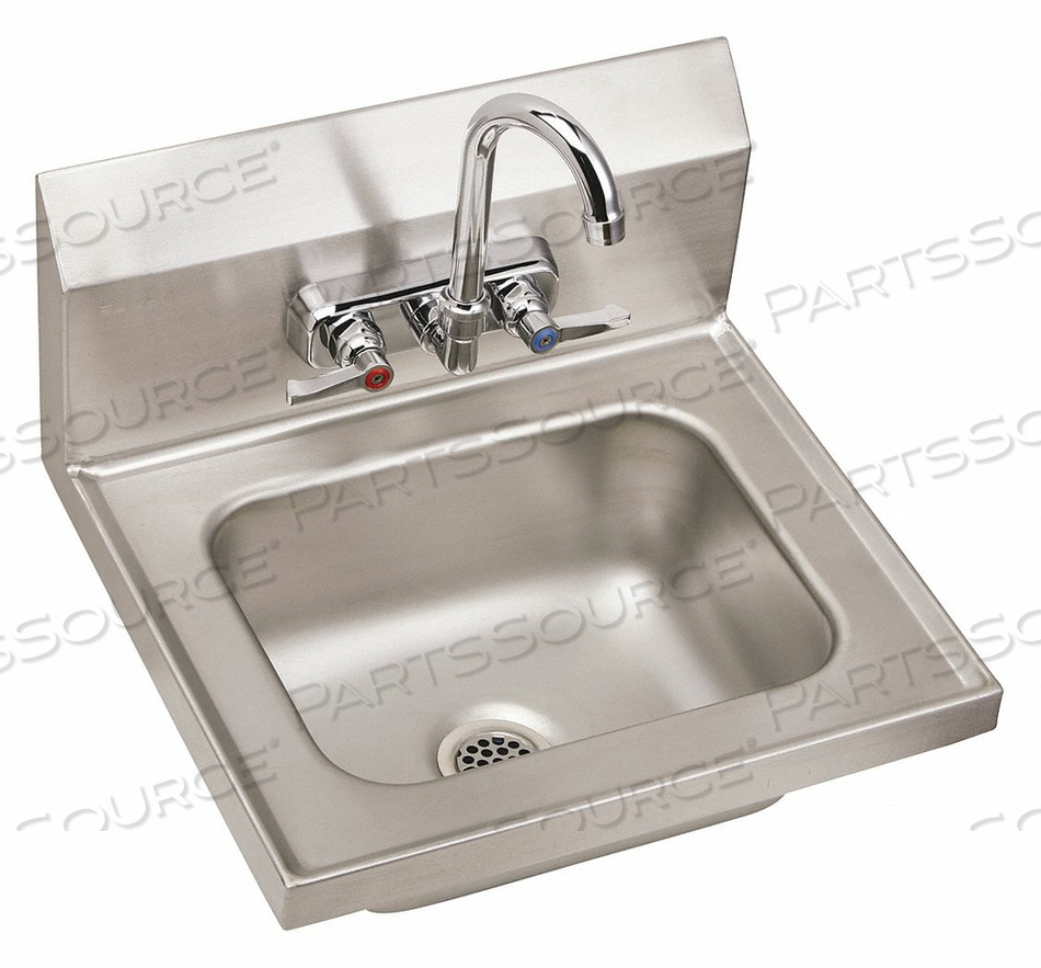HAND WASH-UP SINK TYPE 304 WALL MOUNT SS by Elkay