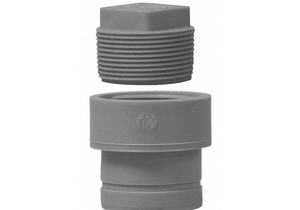CLEANOUT ADAPTER 1 1/2 IN NO HUB POLY by Orion