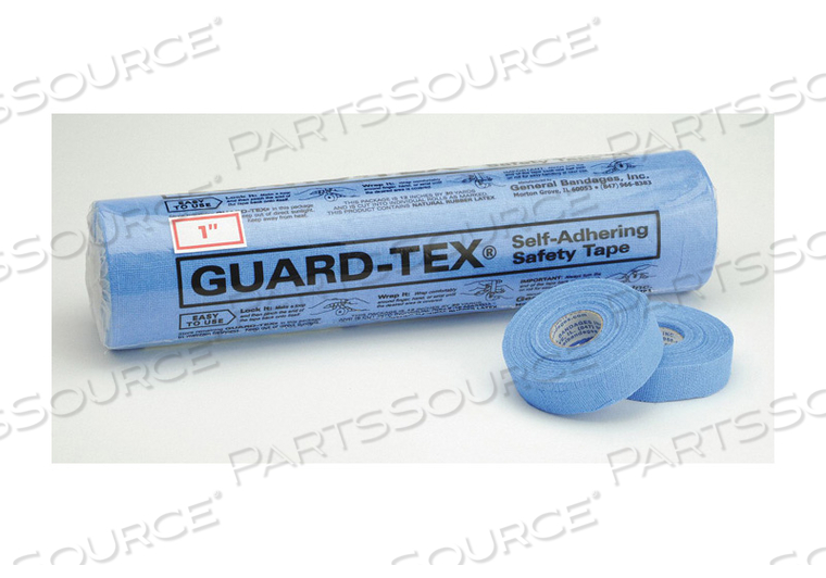 E1699 SAFETY TAPE BLUE 1 IN W 30 YD. L PK12 by Guard-Tex