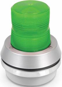 HORN STROBE GREEN CAST ALUMINUM 120VAC by Edwards Signaling