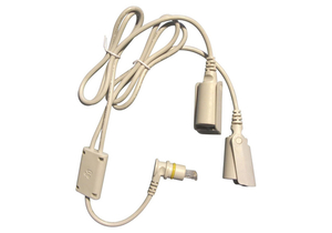 ELECTRIC BED PENDANT DISCONNECT CABLE, Y HANDSET by NOA Medical Industries