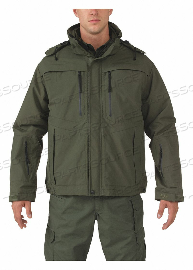 VALIANT DUTY JACKET 4XL SHERIFF GREEN by 5.11 Tactical