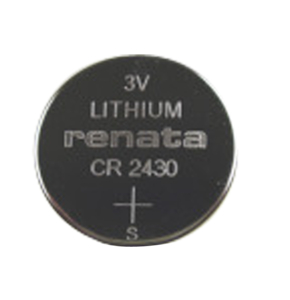 BATTERY, COIN CELL, 2430, LITHIUM, 3V, 285 MAH by R&D Batteries, Inc.