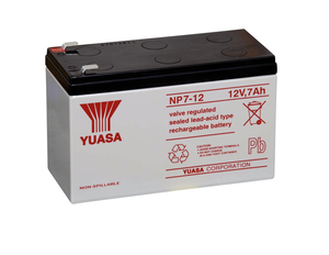 BATTERY, LEAD ACID, 12V, 7 AH, FASTON (F1) by Baxter Healthcare Corp.