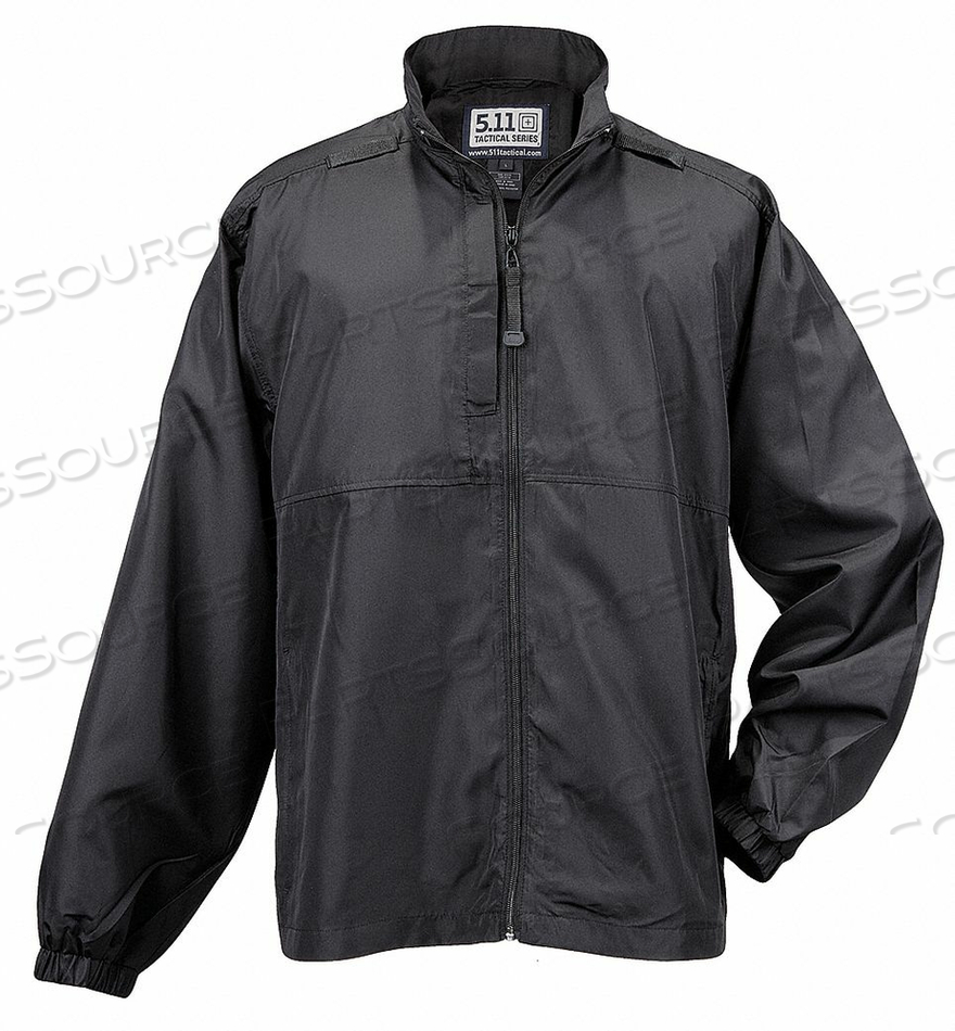 PACKABLE JACKET SIZE 2XL BLACK by 5.11 Tactical