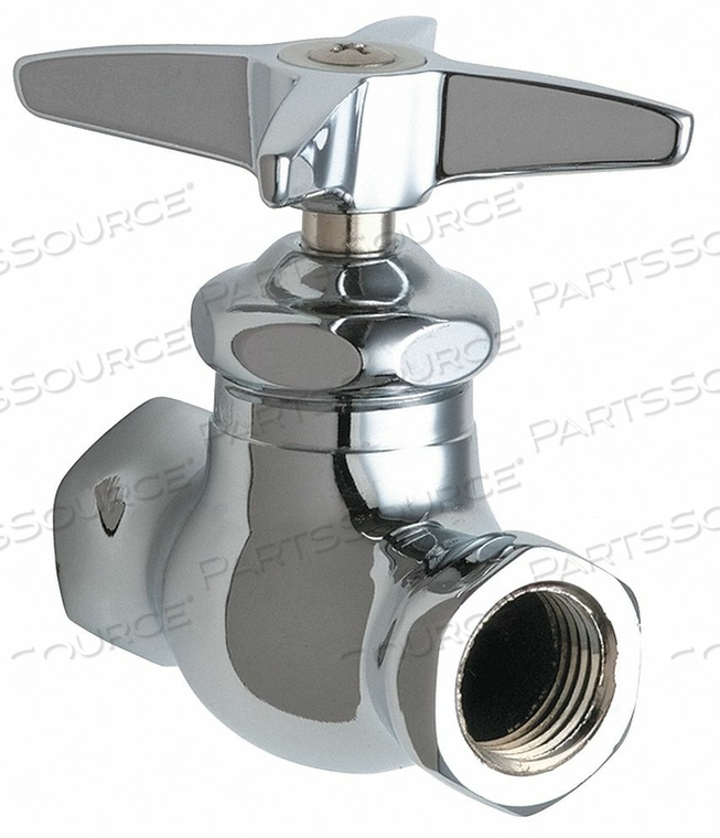 MULTI-TURN STOP STRAIGHT 1/2 INX1/2 IN by Chicago Faucets