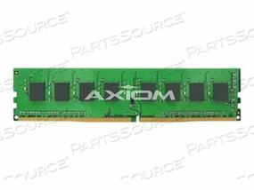 AXIOM AX - DDR4 - 4 GB - DIMM 288-PIN - 2400 MHZ / PC4-19200 - CL17 - 1.2 V - UNBUFFERED - NON-ECC - FOR HP 290 G1, ELITEDESK 705 G3, 800 G3, PRODESK 400 G4, 600 G3 by Axiom