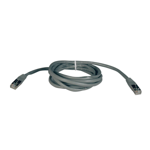 25FT 350MHZ CAT5E MOLDED SHIELDED STP RJ45 MALE/MALE ETHERNET CABLE - GREY by Tripp Lite