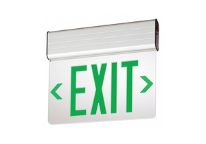 EXIT SIGN GREEN LETTER LED by Lithonia Lighting