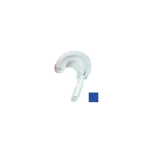 """SPARTA CLEAN-IN-PLACE HOOK BRUSH 11-1/2""""L, BLUE by Carlisle"""