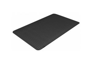 ANTIFATIGUE MAT BLACK 3 FT W X 8 FT L by Ability One