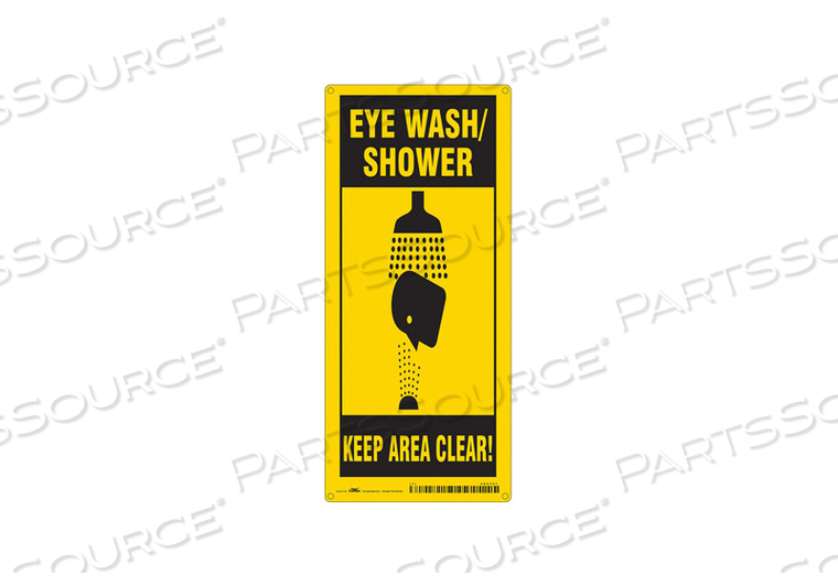FIRST AID SIGN 8 W 18 H 0.055 THICKNESS by Condor