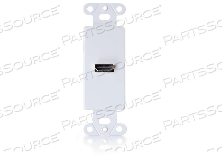 DECORA WALL PLATE HDMI F/F WHITE RR by Legrand AV (C2G)