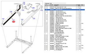 H1 WINDOW RAIL by Siemens Medical Solutions