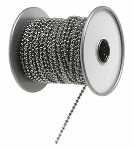 BALL CHAIN SILVER STEEL by Lucky Line Products