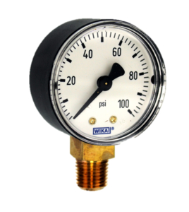 """1/4"""" NPT LIQUID FILLED PRESSURE GAUGE by Mar Cor Purification (Div. of Cantel Medical)"""