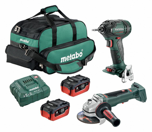 CORDLESS COMBINATION KIT 18.0V 2 TOOLS by Metabo