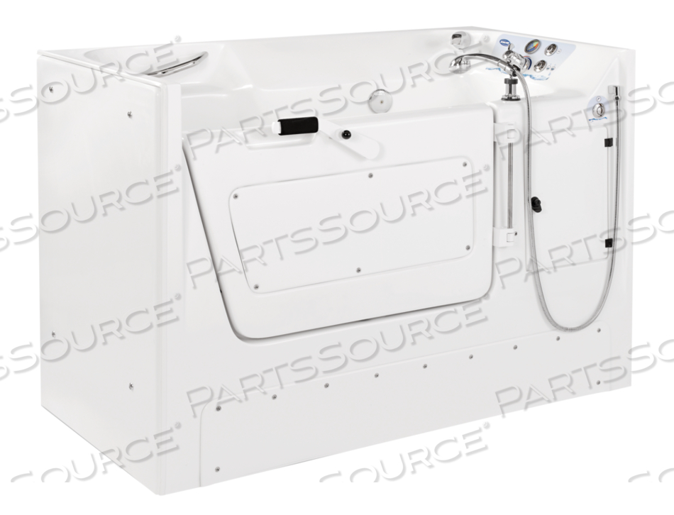 RECESSED SIDE ENTRY WHITE TUB XL by Invacare Corporation