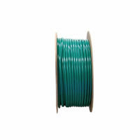 BULK CONDUCTIVE HOSE ASSEMBLY, 1/4 IN ID, OXYGEN, GREEN, MEETS UL, 1 FT by Amvex (Ohio Medical, LLC)