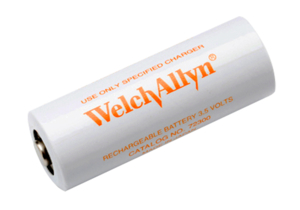 3.6V 750MAH NICD BATTERY - TERMINAL BUTTON TOP by Welch Allyn Inc.