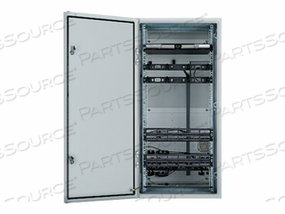 PANDUIT PRE-CONFIGURED INDUSTRIAL DISTRIBUTION FRAME - NETWORK DEVICE ENCLOSURE - WALL MOUNTABLE - 26U by Panduit