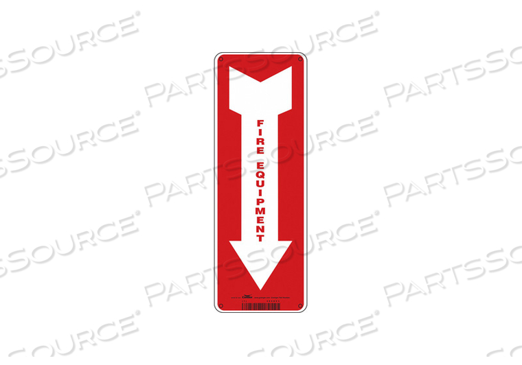 SAFETY SIGN 5 W 14 H 0.055 THICKNESS by Condor