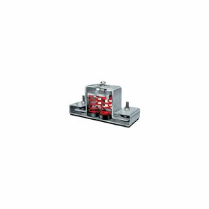 "FLOOR MOUNT SEISMIC & WIND VIBRATION ISOLATOR - 8-3/4""L X 2-1/2""W RED by Mason"