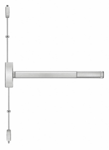 VERTICAL ROD EXIT ONLY 36IN.FIRE RATED by Precision