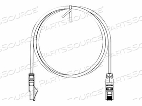 PANDUIT NETKEY - PATCH CABLE - RJ-45 (M) TO RJ-45 (M) - 35 FT - UTP - CAT 6 - IEEE 802.3AF/IEEE 802.3AT - BOOTED, SNAGLESS, STRANDED - BLACK by Panduit