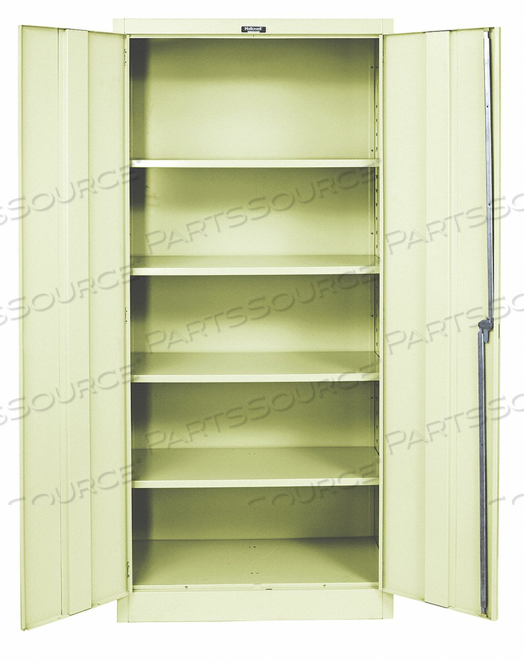 H2197 SHELVING CABINET 72 H 48 W TAN by Hallowell