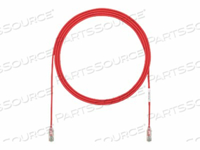 PANDUIT TX6 - PATCH CABLE - RJ-45 (M) TO RJ-45 (M) - 1 IN - UTP - CAT 6 - STRANDED, HALOGEN-FREE, BOOTED - RED by Panduit