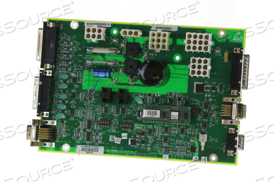 OVERHEAD TUBE SUSPENSION (OTS) INPUT/OUTPUT (I/O) BOARD by GE Healthcare