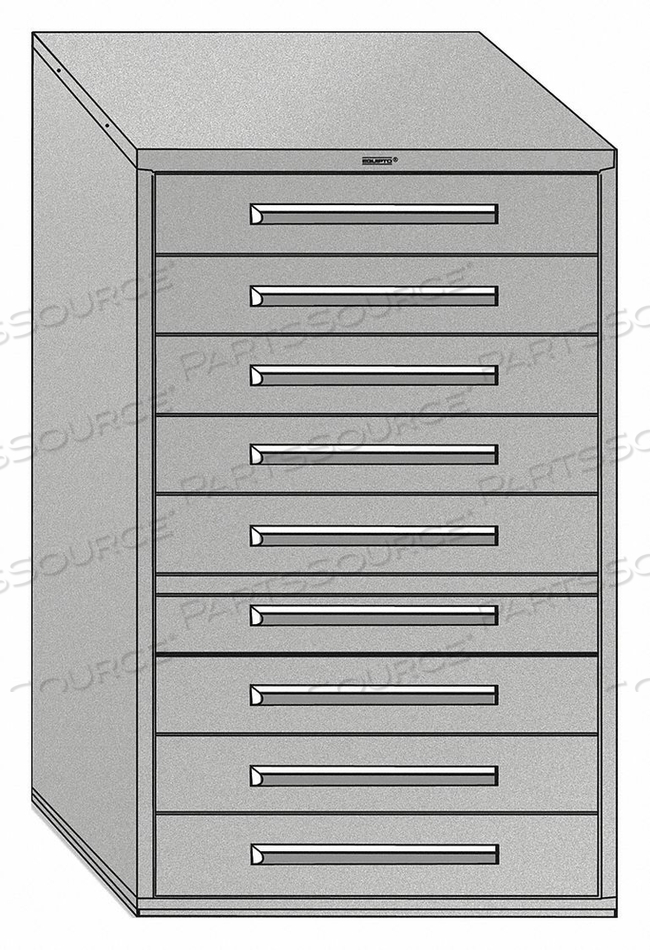 DRAWER CABINET PUTTY SURFACE MAT. STL by Equipto