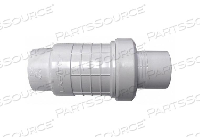 COUPLING PVC 1-1/2 IN. SLIP X SLIP by Lasco