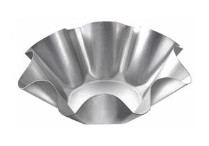 TORTILLA SHELL PAN 9-1/8 IN ALUM STEEL by Chicago Metallic