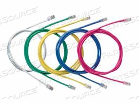 PANDUIT NETKEY - PATCH CABLE - RJ-45 (M) TO RJ-45 (M) - 6.6 FT - UTP - CAT 5E - SNAGLESS, STRANDED - GREEN by Panduit