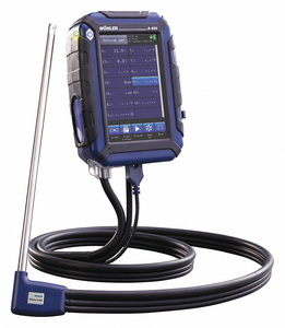 COMBUSTION ANALYZERS BACKLIT LED by Wohler