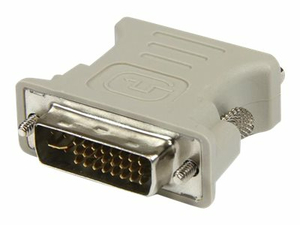 STARTECH.COM DVI TO VGA CABLE ADAPTER - M/F - VGA ADAPTER - DVI-I (M) TO HD-15 (F) - BEIGE - FOR P/N: IP2DVI, SV421DVI, SV221DVI by StarTech.com Ltd.