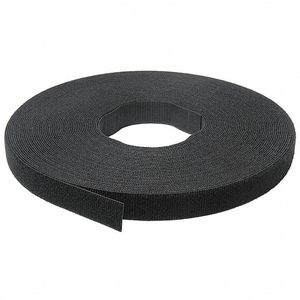 """VELCRO BRAND ONE-WRAP HOOK & LOOP TAPE FASTENERS BLACK 1-1/2"""" X 75' by Industrial Webbing Corp."""