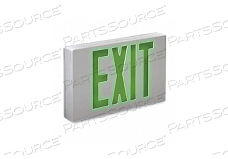 EXIT SIGN 1.7W GREEN 2 by Big Beam