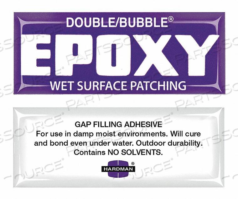 EPOXY WET SURFACE PATCH 3.5G PK10 by Hardman
