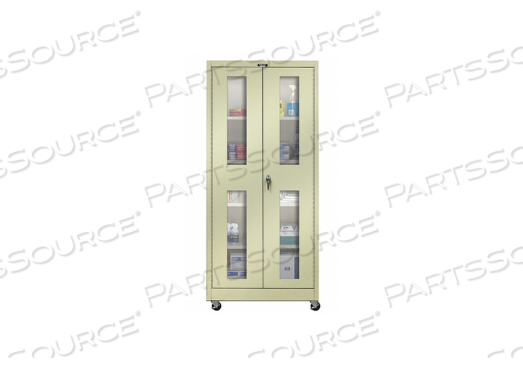 G6770 SHELVING CABINET 72 H 36 W TAN by Hallowell