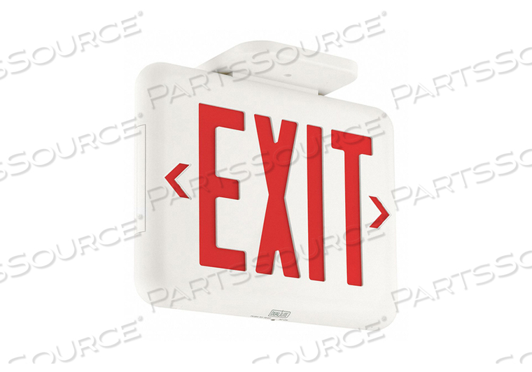 EXIT SIGN WITH BATTERY BACKUP 2.01W by Hubbell Power Systems