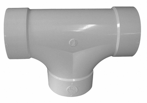 TWO WAY CLEANOUT PVC 4IN. HUB by Genova