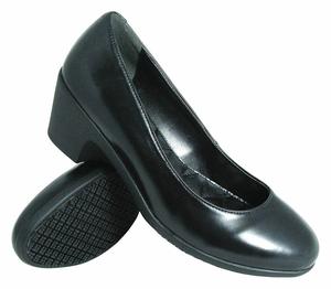 DRESS PUMP SHOES WOMEN BLACK 8400-8M PR by Genuine Grip