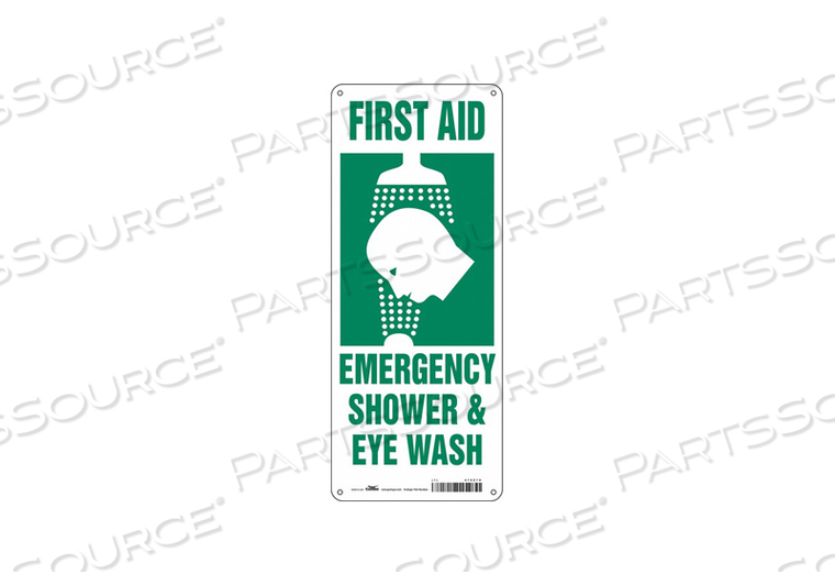 SAFETY SIGN 7 W X 17 H 0.055 THICK by Condor
