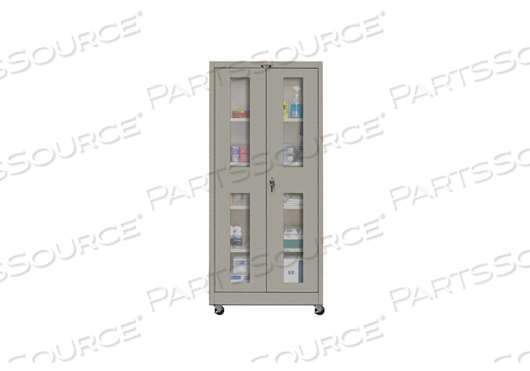 G6771 SHELVING CABINET 72 H 36 W GRAY by Hallowell