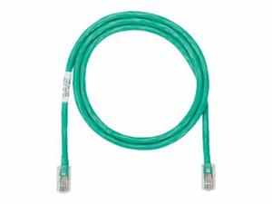 PANDUIT NETKEY - PATCH CABLE - RJ-45 (M) TO RJ-45 (M) - 35 FT - UTP - CAT 5E - IEEE 802.3AF/IEEE 802.3AT/IEEE 802.3BT - SNAGLESS, STRANDED - GREEN by Panduit