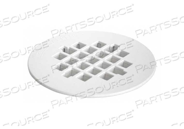 REPLACEMENT SHOWER STRAINER 4.25IN WHITE by Oatey